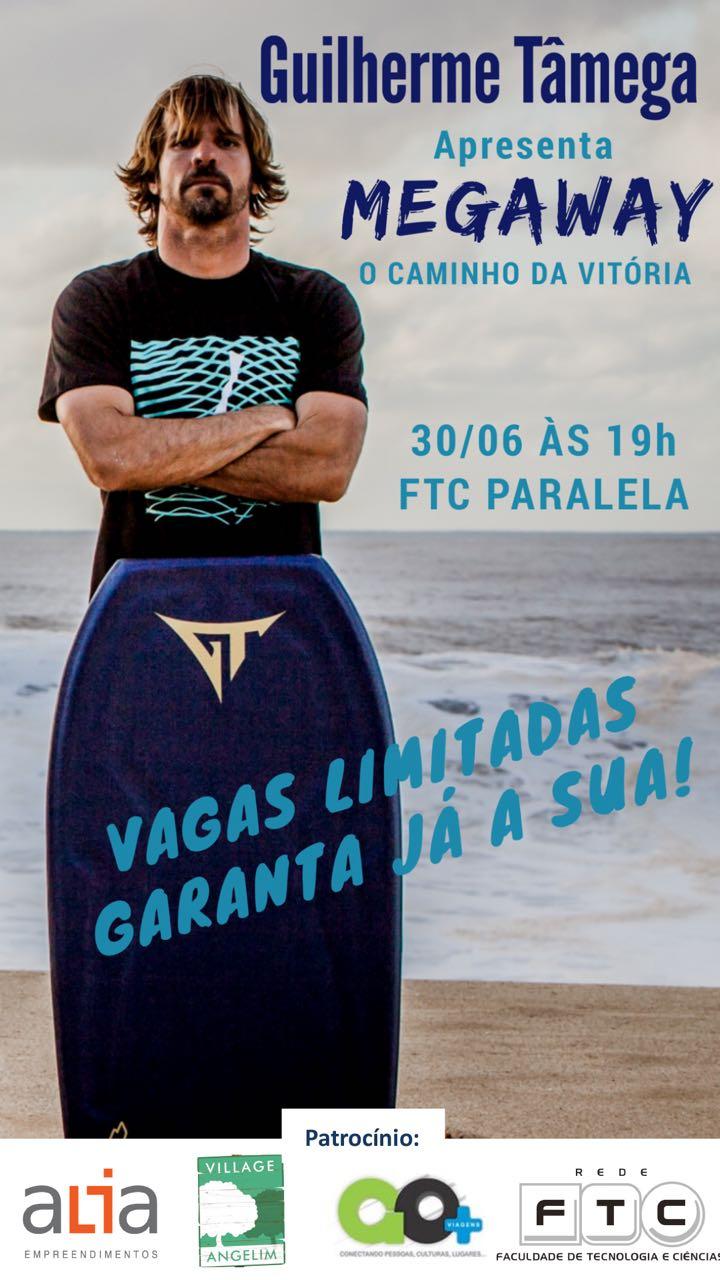10e078666f0a1 O lendário bodyboarder Guilherme Tâmega está no Brasil para uma série de  palestras. Depois de marcar presença em Niterói (RJ), onde inclusive  participou ...
