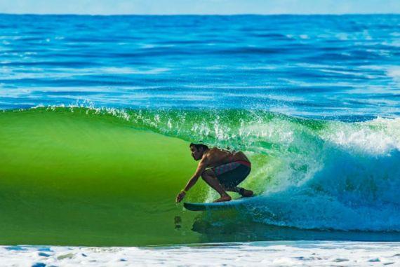 Na missão das ondas