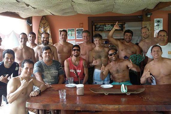 Confraternização no Flamengo