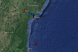 Terremoto registrado